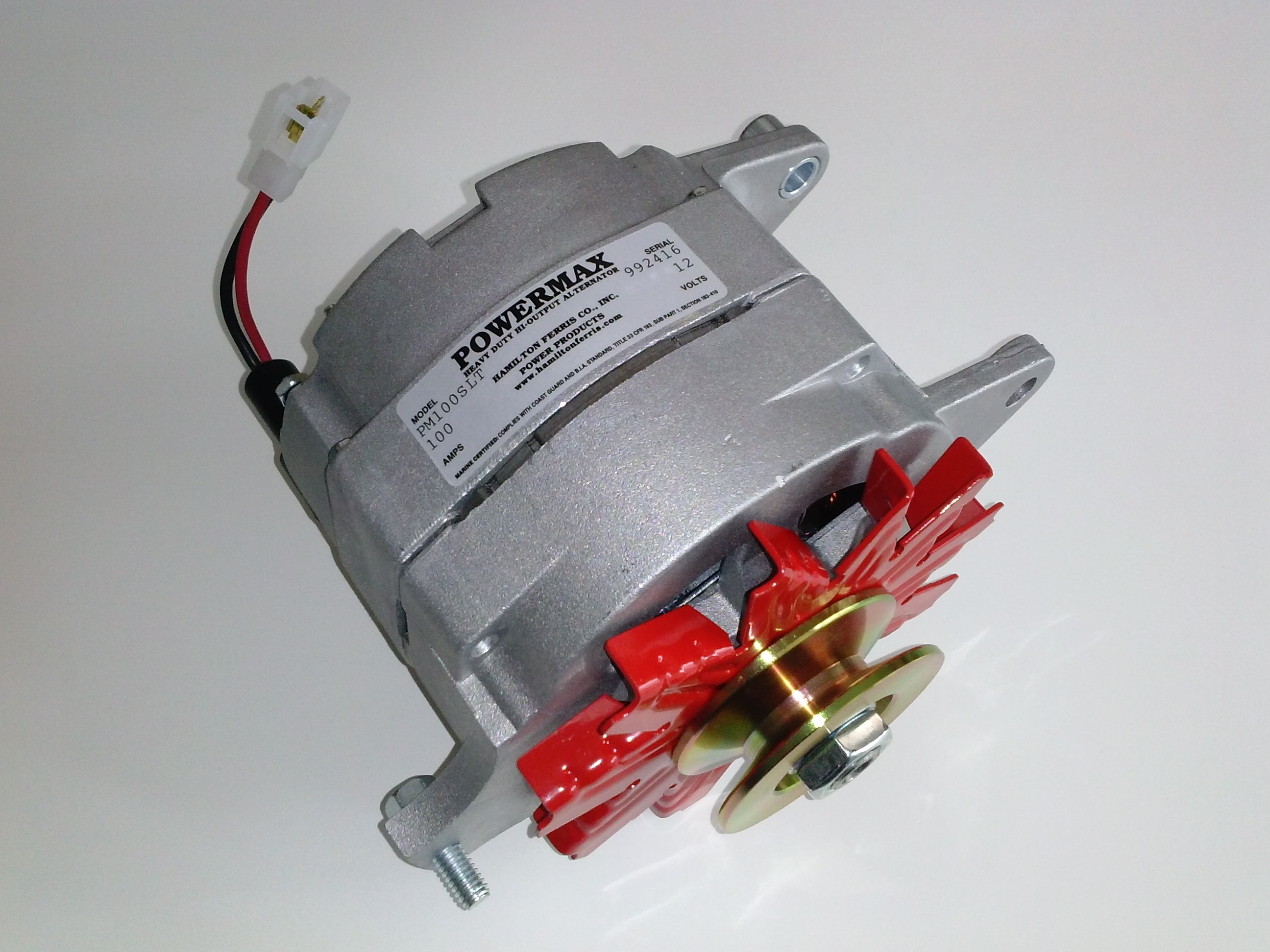 Powermax High Output Alternators Balmar Regulator Wiring Diagram Also Marine Alternator These Cost Effective Are A Perfect Solution For Applications Requiring More Power Than The Stock Engine